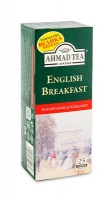 "Чай чорний ""Ahmad English Breakfast"" 25 шт х 2 г"