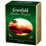 "Чай чорний Greenfield ""Golden Ceylon"" 2г х100 шт"