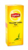 Чай черный Lipton Yellow Label 25 пак