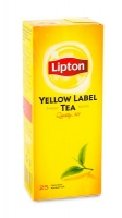Чай чорний Lipton Yellow Label 25 пак
